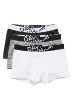 3-pack boxer shorts - Black - Men | H&M GB 1