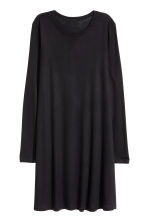 Abito in jersey maniche lunghe - Nero - DONNA | H&M IT 2