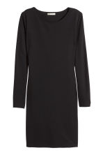 Jersey dress - Black - Ladies | H&M CN 2