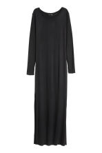 Jersey maxi dress - Black - Ladies | H&M CN 2