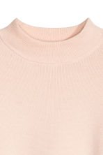 Turtleneck jumper - Powder pink - Ladies | H&M GB 3