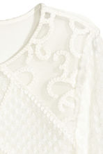 Lace top - White - Ladies | H&M CN 3