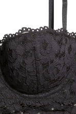Lace bralette - Black - Ladies | H&M CN 4