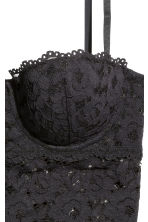 Lace bralette - Black - Ladies | H&M CN 3