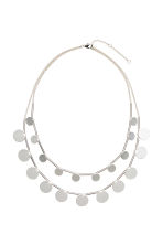 Two-strand necklace - Silver - Ladies | H&M CN 1