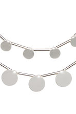 Two-strand necklace - Silver - Ladies | H&M CN 2