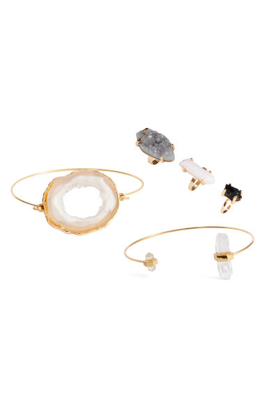 Jewellery set - Gold - Ladies | H&M CN 1