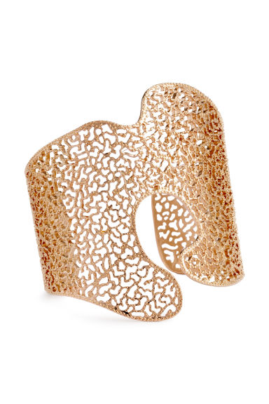 Asymmetric cuff - Gold - Ladies | H&M CN