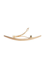 Metal hair clip - Gold - Ladies | H&M CN 2
