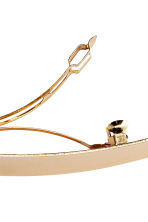 Metal hair clip - Gold - Ladies | H&M CN 3