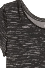 Jersey dress - Black marl - Kids | H&M GB 3