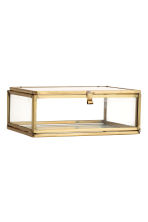 Clear glass box - Gold - Home All | H&M CA 4