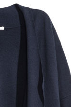 Cardigan in misto cotone - Blu scuro - DONNA | H&M IT 3