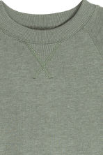 Sweatshirt - Dusky green - Ladies | H&M GB 3
