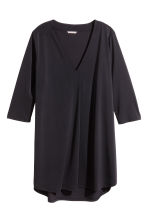 H&M+ V-neck tunic - Black - Ladies | H&M CN 2