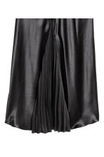 Long silk skirt - Black - Ladies | H&M GB 3