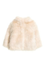 Faux fur jacket - Natural white - Kids | H&M CN 2