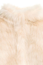 Faux fur jacket - Natural white - Kids | H&M CN 3