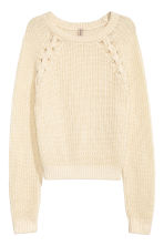 Knitted jumper - Natural white -  | H&M 2