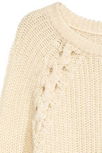 Knitted jumper - Natural white -  | H&M 3