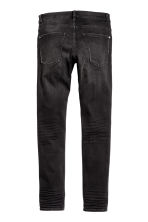 Skinny Low Ripped Jeans - Dark grey - Men | H&M CN 3