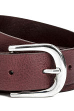 Belt - Burgundy - Ladies | H&M CN 3