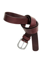 Belt - Burgundy - Ladies | H&M CN 2