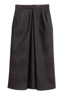 Calf-length skirt