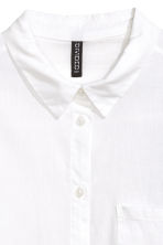 Cotton shirt - White - Ladies | H&M GB 5