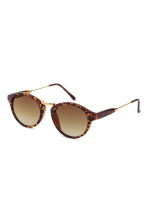 Sunglasses - Tortoiseshell - Ladies | H&M CN 1