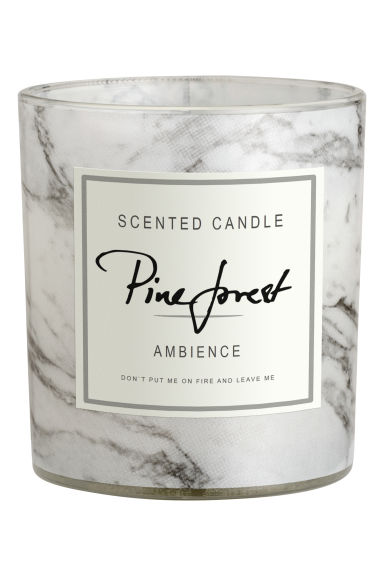 Scented candle - Pine forest - Home All | H&M GB 1
