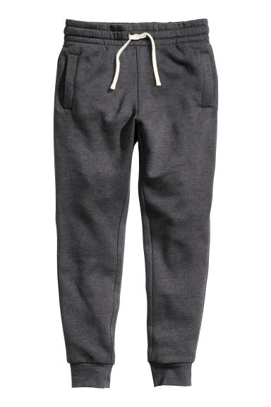 Sweatpants - Dark grey marl -  | H&M GB