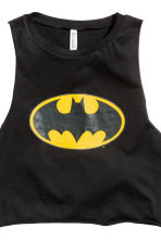 Pyjamas with top and shorts - Black/Batman - Ladies | H&M CN 6