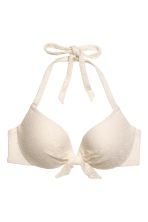 Top bikini - Bianco naturale/pizzo - DONNA | H&M IT 2