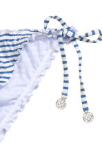 Bikini bottoms - Blue/Striped - Ladies | H&M CN 3
