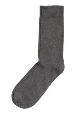 5-pack socks - Dark grey - Men | H&M CN 3