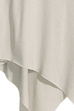 Draped top - Grey beige - Ladies | H&M CN 3