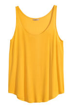 H&M+ Jersey vest top  - Yellow - Ladies | H&M CN 2