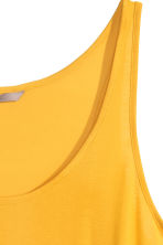 H&M+ Jersey vest top  - Yellow - Ladies | H&M CN 3