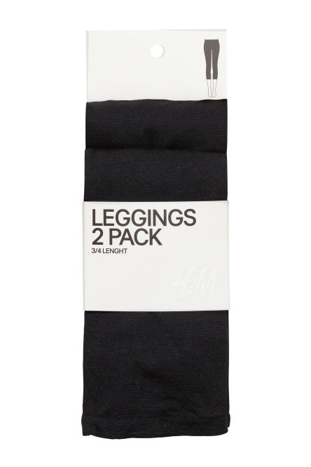 Leggings 60 den, pack de 2