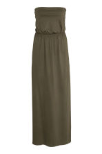 Maxi dress - Dark khaki green - Ladies | H&M CN 2
