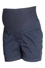 MAMA Chino shorts - Dark blue - Ladies | H&M 2