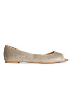 Ballet pumps - Gold/Glittery - Ladies | H&M CN 1