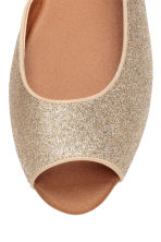 Ballet pumps - Gold/Glittery - Ladies | H&M CN 3