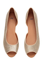 Ballet pumps - Gold/Glittery - Ladies | H&M CN 2