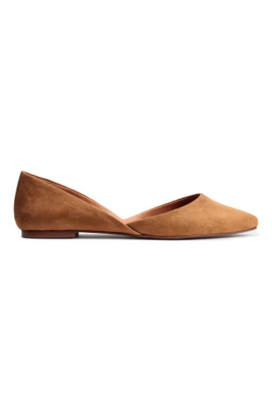 Ballet pumps - Dark beige - Ladies | H&M IE 1