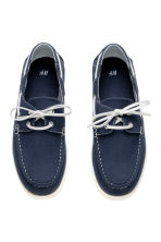 Deck shoes - Dark blue - Men | H&M CN 2