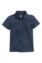 Polo shirt - Dark blue -  | H&M 3