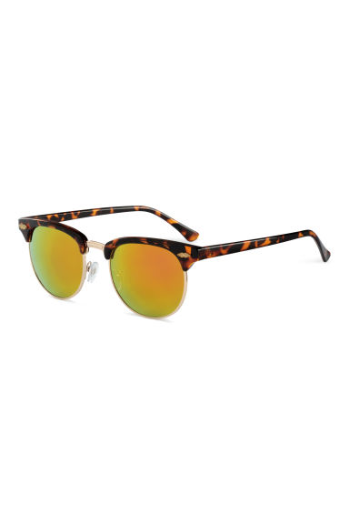 Sunglasses - Brown/Mirror - Ladies | H&M CN