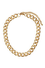 Metal necklace - Gold - Ladies | H&M CN 1